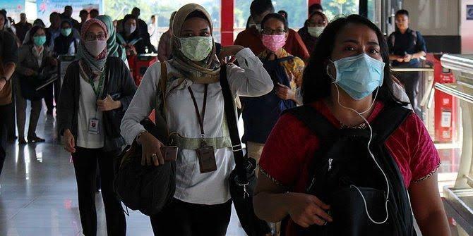 Penggunaan masker kain dimasyarakat