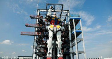 Jepang membuat Gundam Nyata yang bisa bergerak